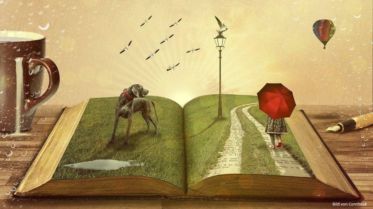 Illustration eines Traums