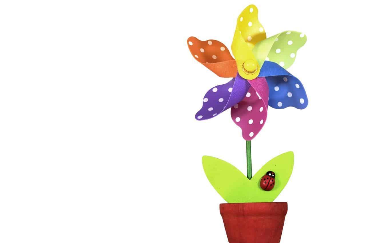 eine künstliche Blume