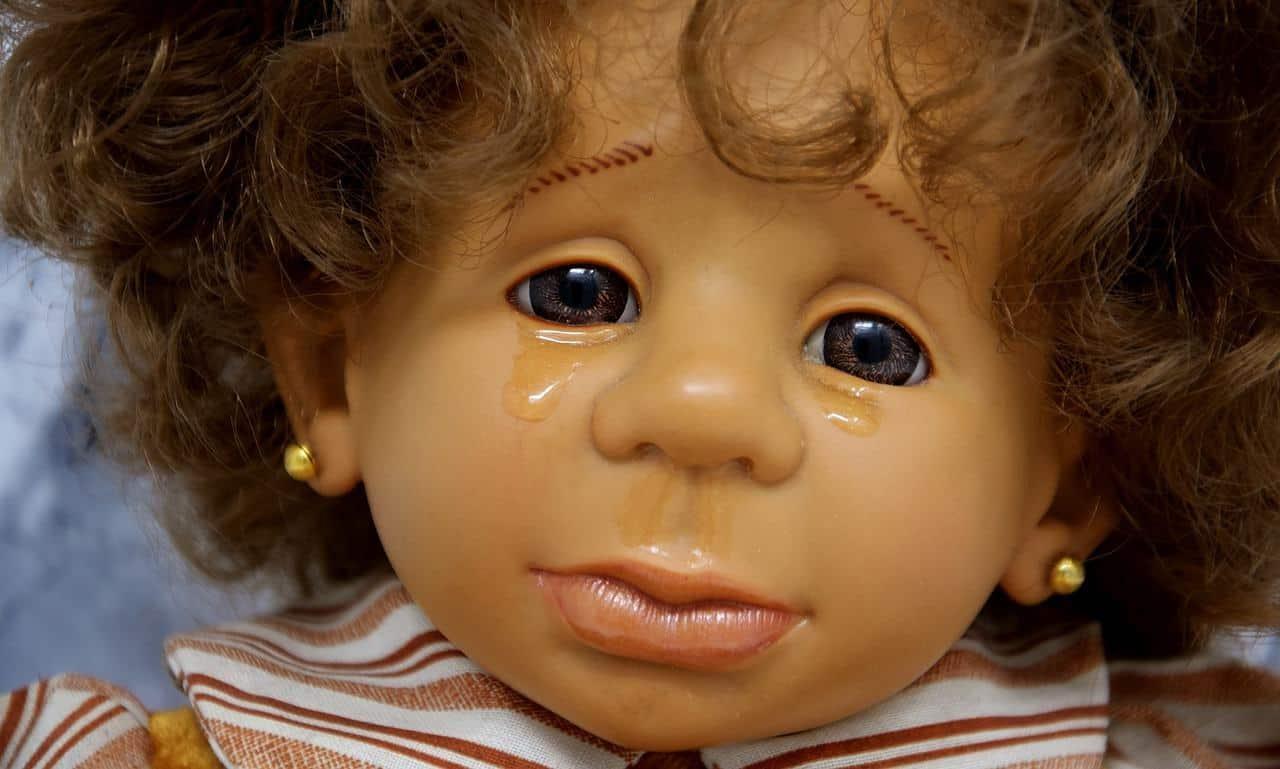 Tränen einer Puppe